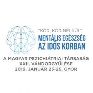 Előadás a Magyar Pszichiátriai Társaság XXII-ik Vándorgyűlésén, 2019